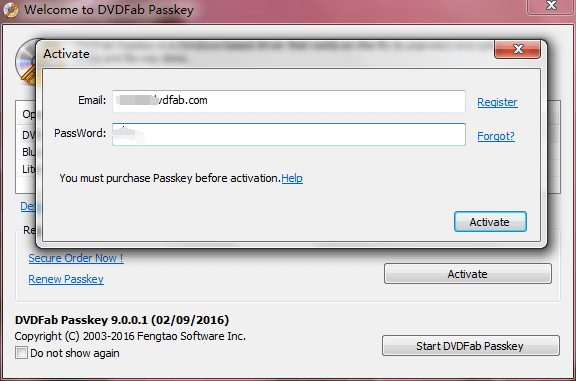 dvdfab passkey 無期限
