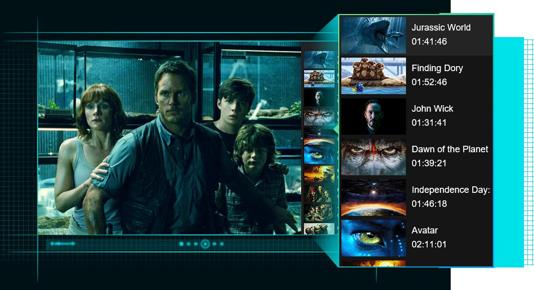 dvdfab media player for Mac 特點