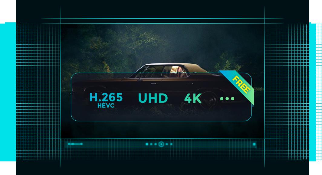 dvdfab media player for Mac 特點3