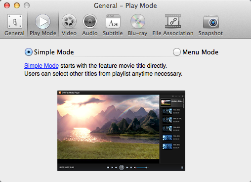 dvdfab media player for Mac 圖示1